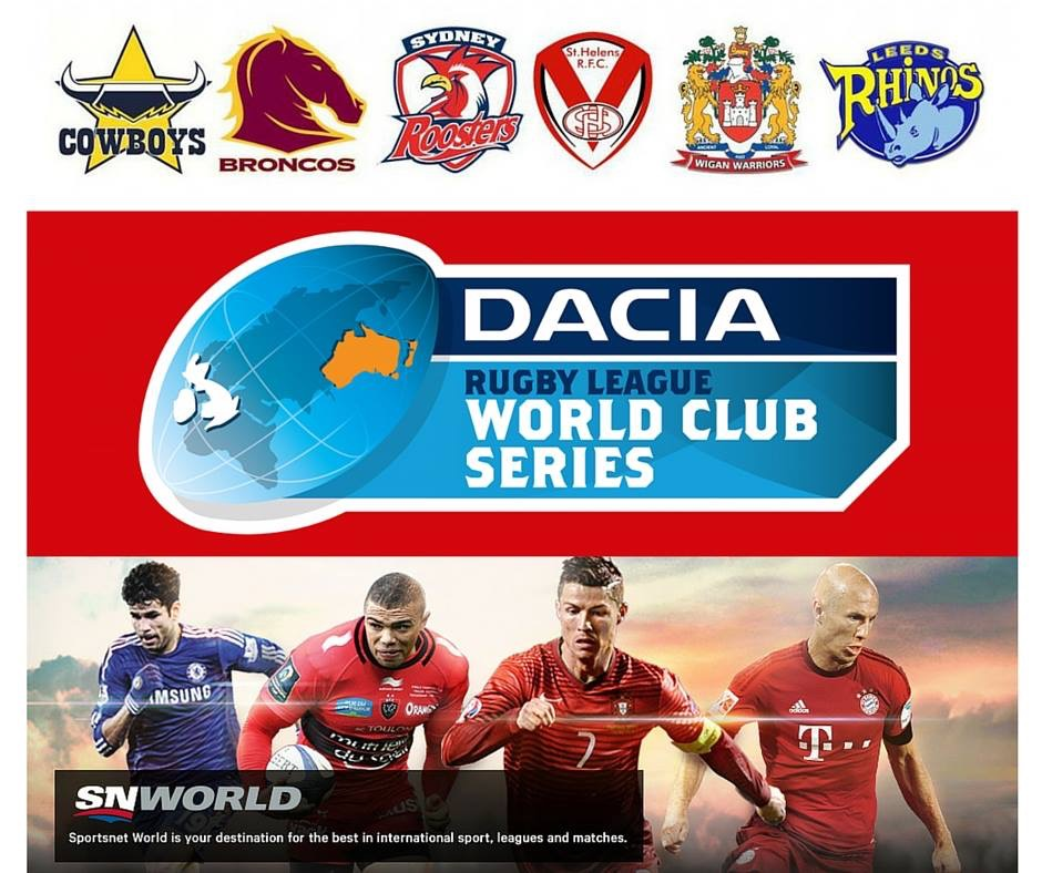 Sportsnet World Broadcasting World Club Challenge Series Canada Rugby League Association